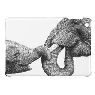 African Elephants Cover For The iPad Mini