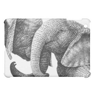 African Elephants iPad Mini Cover
