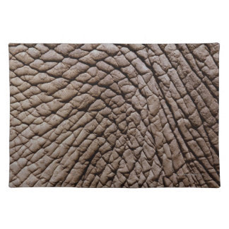 African elephant's (Loxodonta africana) skin Placemat