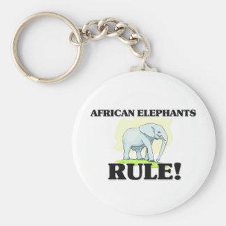 AFRICAN ELEPHANTS Rule! Key Chain