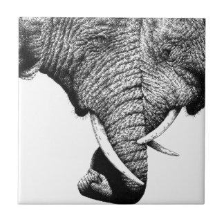 African Elephants tile