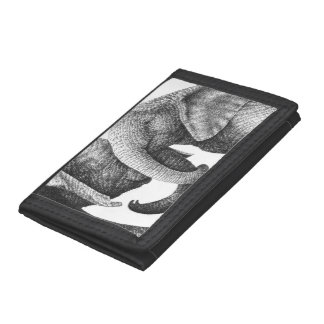 African Elephants Wallet