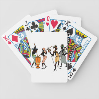 African Ethnic art style playing cards