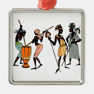 African Ethnic Native tribal design Christmas Ornament
