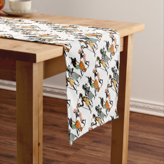 African Ethnic Native tribal design Short Table Runner