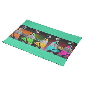African Fashion Place Mat