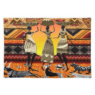 African Feast Place Mat