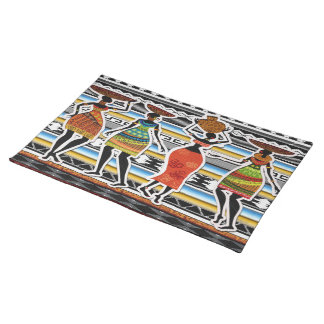 African Feast Placemats