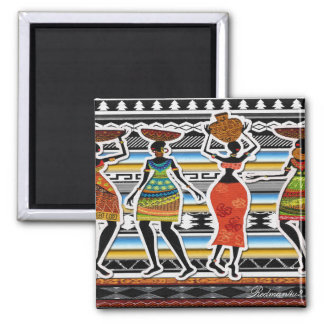 African Feast Magnet