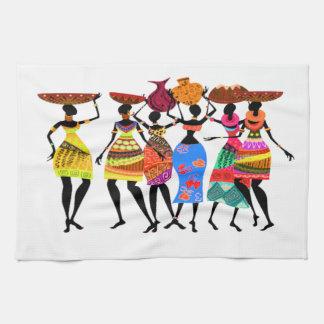 African Feast Tea Towel