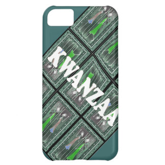 African figure figures ready for Kwanzaa iPhone 5C Case