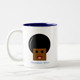African-Filipino-American Pride Two-Tone Coffee Mug