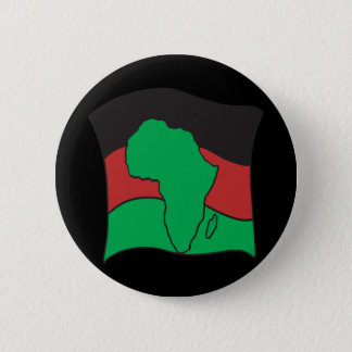African Flag 6 Cm Round Badge