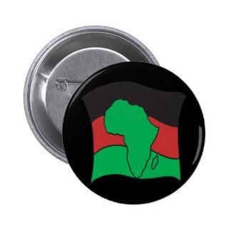 African Flag 6 Cm Round Badge