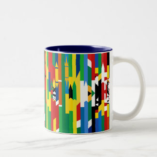 African Flags Mug