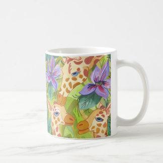 African Giraffe Kisses (Kimberly Turnbull Art) Coffee Mug