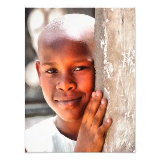 African girl photo art