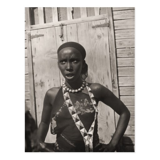 African girl post cards