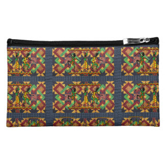 african girls baggette cosmetic bag