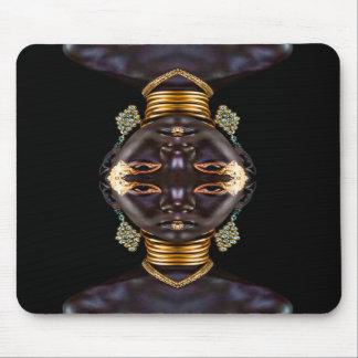 African Goddess Mousepads