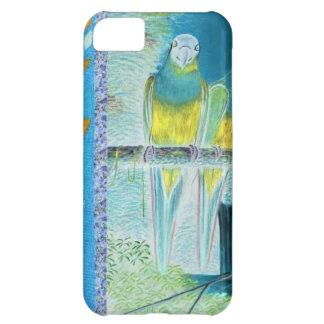 African green and yellow parrot iPhone 5C case