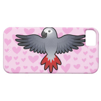 African Grey / Amazon / Parrot Love Case For The iPhone 5
