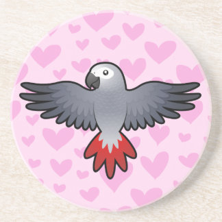 African Grey / Amazon / Parrot Love Coaster