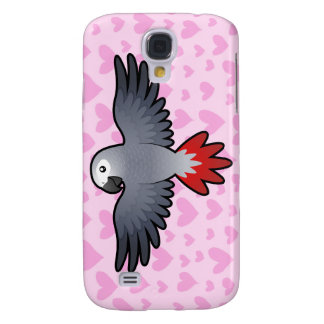 African Grey / Amazon / Parrot Love Galaxy S4 Case