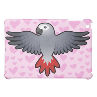 African Grey / Amazon / Parrot Love iPad Mini Covers