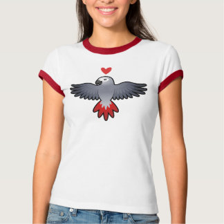 African Grey / Amazon / Parrot Love T Shirt