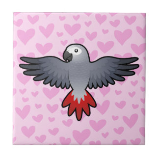 African Grey / Amazon / Parrot Love Tile