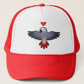 African Grey / Amazon / Parrot Love Trucker Hat