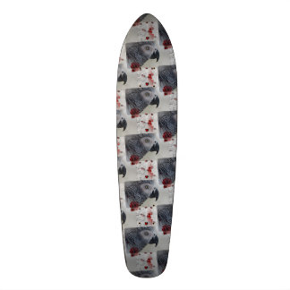 African Grey Love Letters Skate Board
