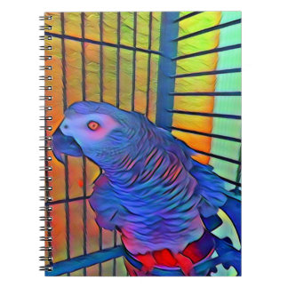 African Grey Notebook