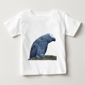 African Grey Parrot Baby T-Shirt