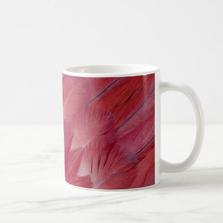 African Grey Parrot Feather Design Coffee Mug