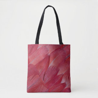 African Grey Parrot Feather Design Tote Bag