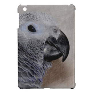 African Grey Parrot iPad Mini Covers