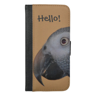 African Grey Parrot iPhone 6/6s Plus Wallet Case