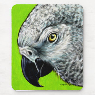 African Grey Parrot Mouse Pads