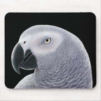 African Grey Parrot Mousepad
