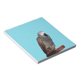 African Grey Parrot Notepads
