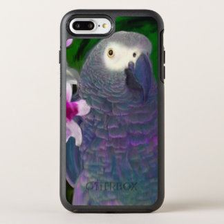 African Grey Parrot OtterBox Symmetry iPhone 8 Plus/7 Plus Case