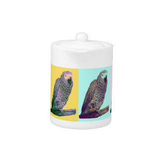 African Grey Parrot Pop Art