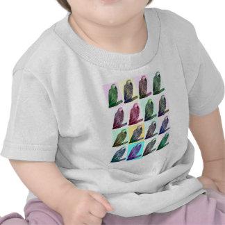 African Grey Parrot Pop Art T Shirt