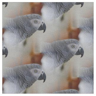 African Grey Pattern Fabric
