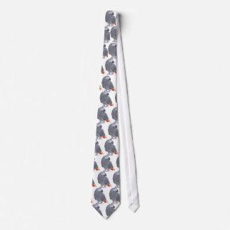 African Grey Tie