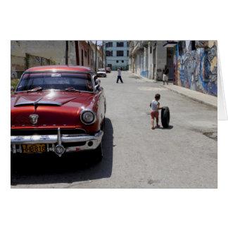 African Hamel district, Havana, Cuba, UNESCO Card