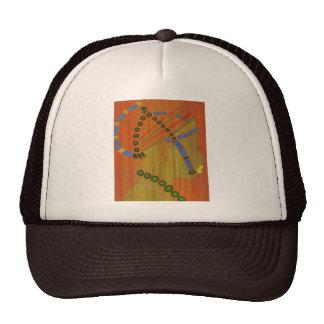 AFRICAN HEAD DRESS, FIFI OCAN TRUCKER HATS
