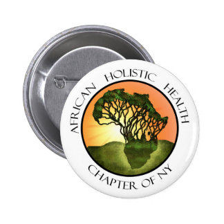 African Holistic Health Merchandise Pinback Buttons